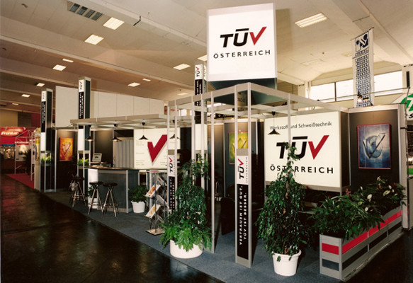 Messestand TÜV